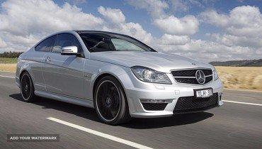 Mercedes E230 (advert with bids)